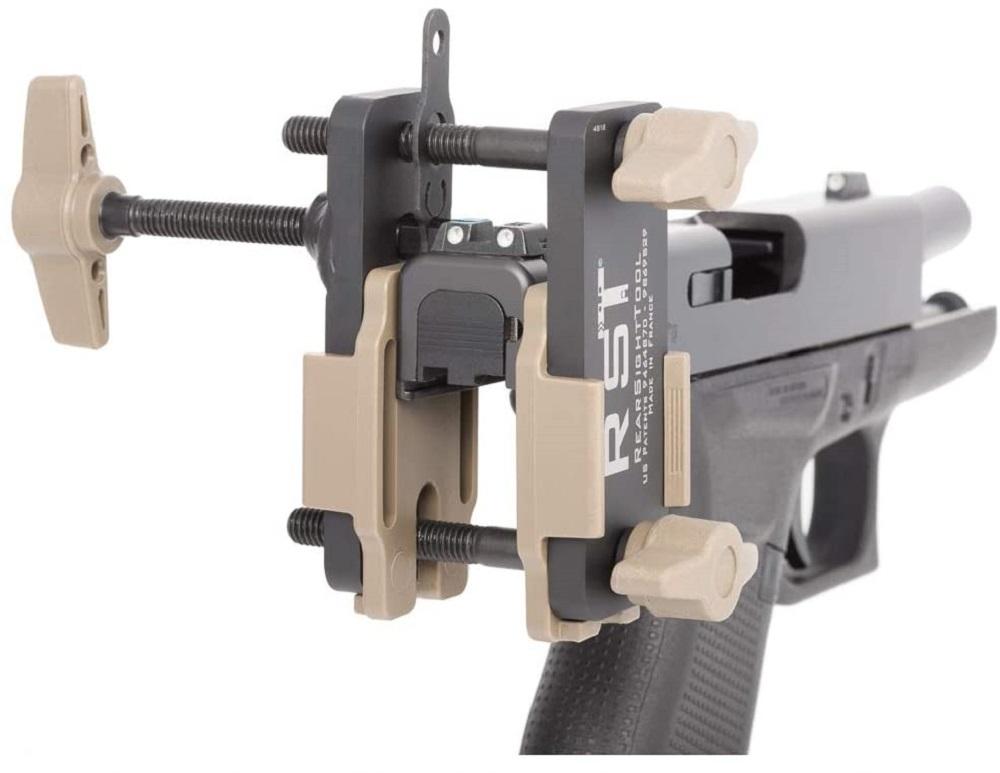 long rifle sight push