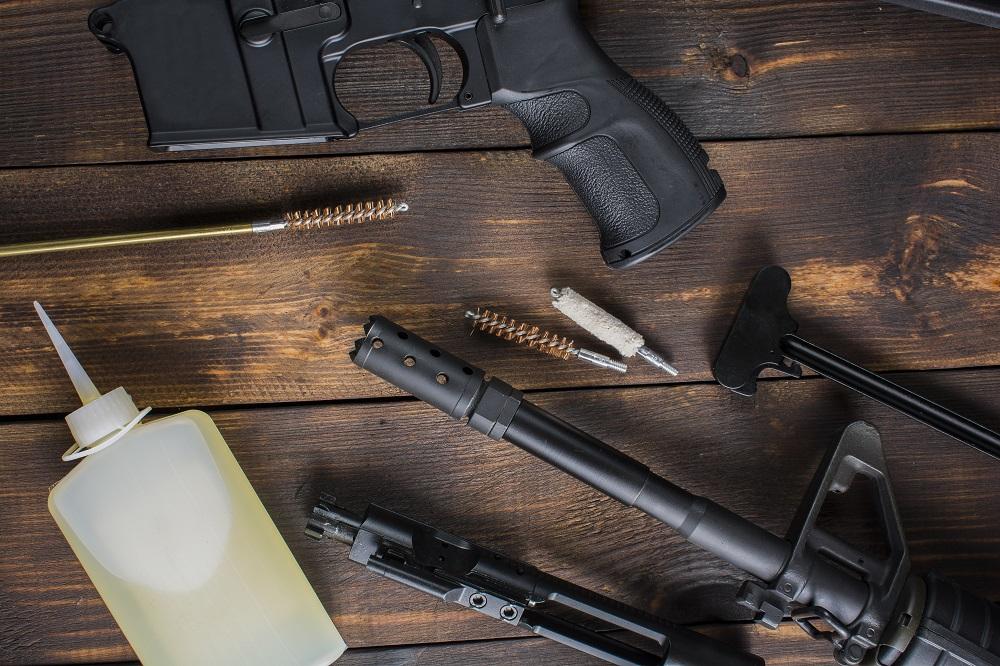gun oil and gun accessories